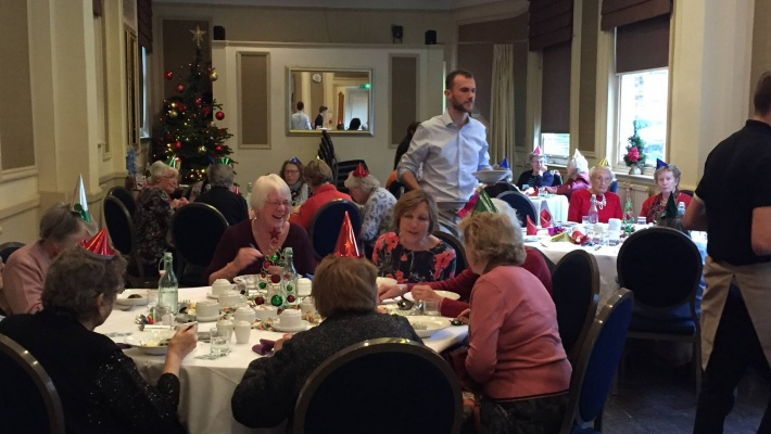 Christmas lunch 2016